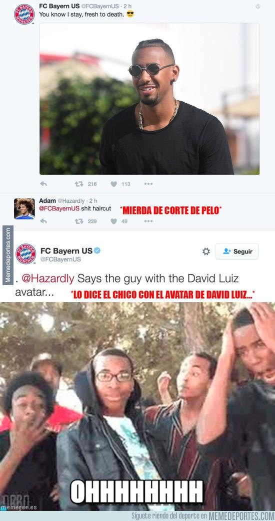 903289 - La respuesta del Bayern a un usuario de Twitter por meterse con el corte de pelo de Boateng