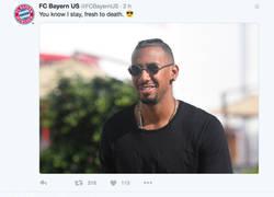 Enlace a La respuesta del Bayern a un usuario de Twitter por meterse con el corte de pelo de Boateng