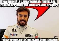 Enlace a Tiene mucho mérito lo de Fernando Alonso