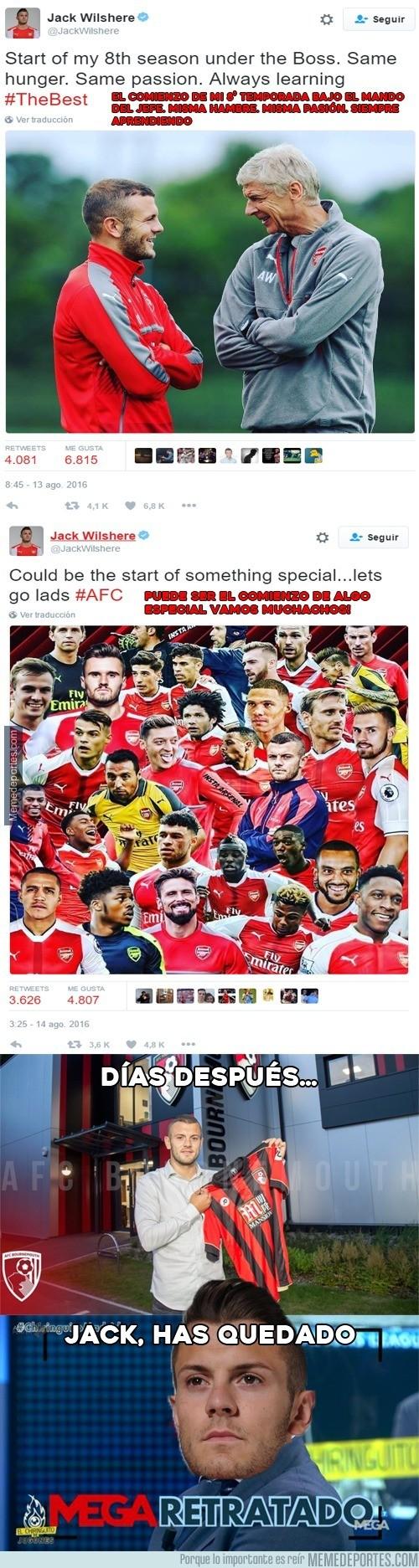 903451 - El Mega-Gafe de Jack Wilshere antes de empezar la temporada con el Arsenal