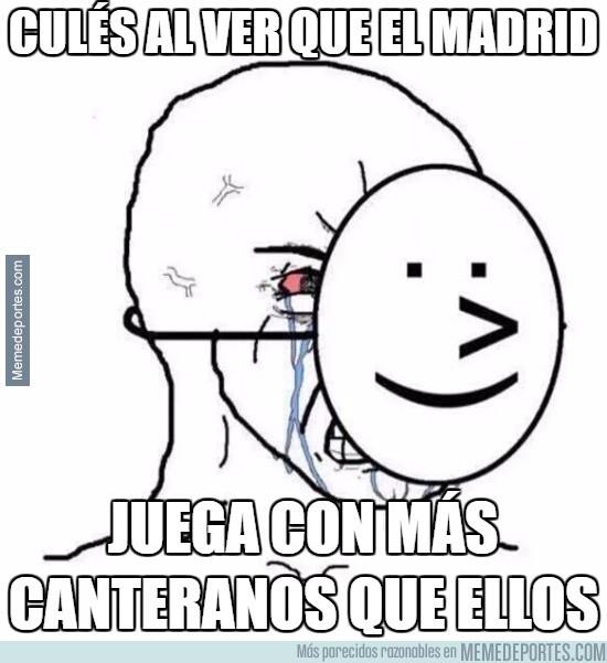 904169 - Culés al ver que el Madrid juega con más canteranos