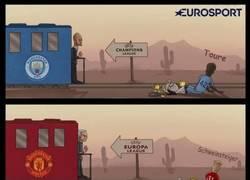 Enlace a Yaya Toure y Schweinsteiger no cogerán el tren de Europa