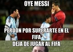 Enlace a Messi no se anda con rodeos