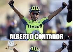 Enlace a Alberto Contador...