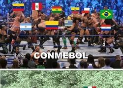 Enlace a Eliminatorias Sudamericanas vs Eliminatorias de centro y norte América