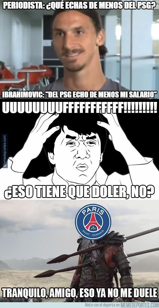905454 - La sutil y cruel contestación de Zlatan que hará llorar a los fans del PSG