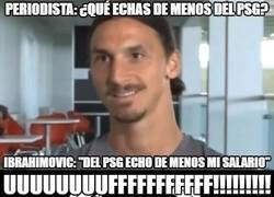 Enlace a La sutil y cruel contestación de Zlatan que hará llorar a los fans del PSG