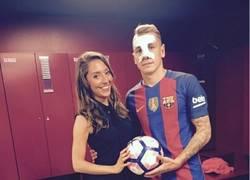 Enlace a Conoce a las espectaculares parejas de los fichajes del FC Barcelona