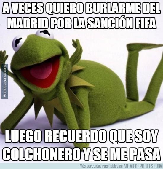 905615 - A veces quiero burlarme del Madrid por la sanción FIFA