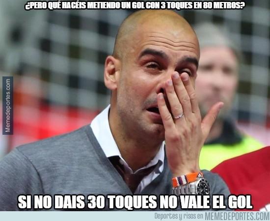 905705 - Guardiola no se lo puede creer
