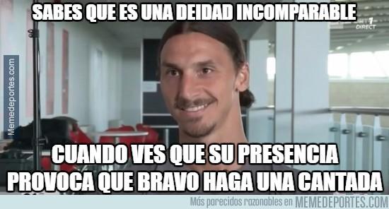 905736 - No Hay limites para Zlatan, hasta Bravo se intimida con él