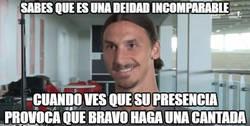 Enlace a No Hay limites para Zlatan, hasta Bravo se intimida con él
