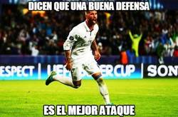Enlace a Ramos sigue on fire