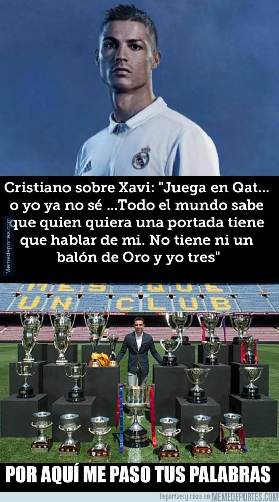 906071 - Las polémicas declaraciones de Cristiano respondiendo a Xavi Hernández
