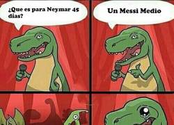 Enlace a El T-Rex se sabe uno del Barça