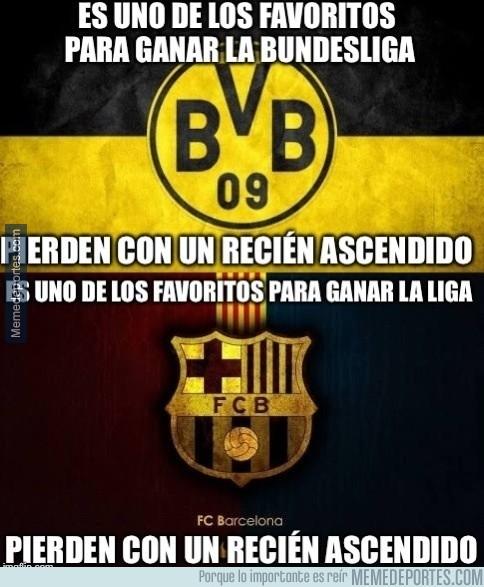 906334 - Barcelona y Borussia Dortmund, parecidos más que razonables
