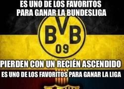 Enlace a Barcelona y Borussia Dortmund, parecidos más que razonables
