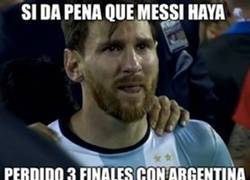 Enlace a No solo Messi pierde finales