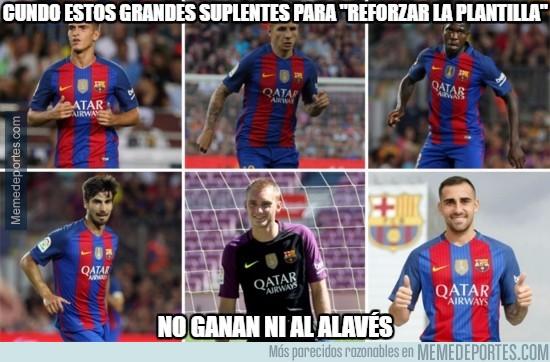 906435 - Los refuerzos del Barça no cumplen