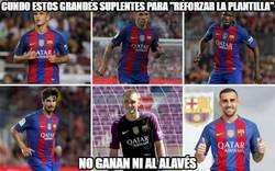 Enlace a Los refuerzos del Barça no cumplen