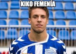 Enlace a Kiko Femenía le tiene pillada la medida al Barça