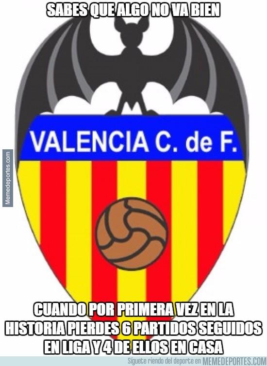 906542 - El Valencia no levanta cabeza...