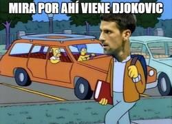 Enlace a Mira por ahí viene Djokovic