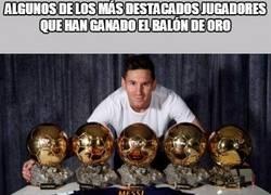 Enlace a Los jugadores más destacados que han ganado el balón de oro