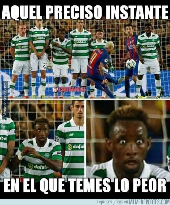 907459 - Tu cara cuando Neymar va a tirar una falta al borde del área