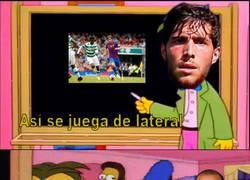 Enlace a Así se juega de lateral en el Barcelona