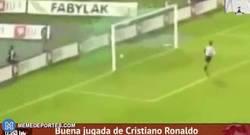 Enlace a GIF REMEMBER : El primer gol de Cristiano Ronaldo con el Sporting