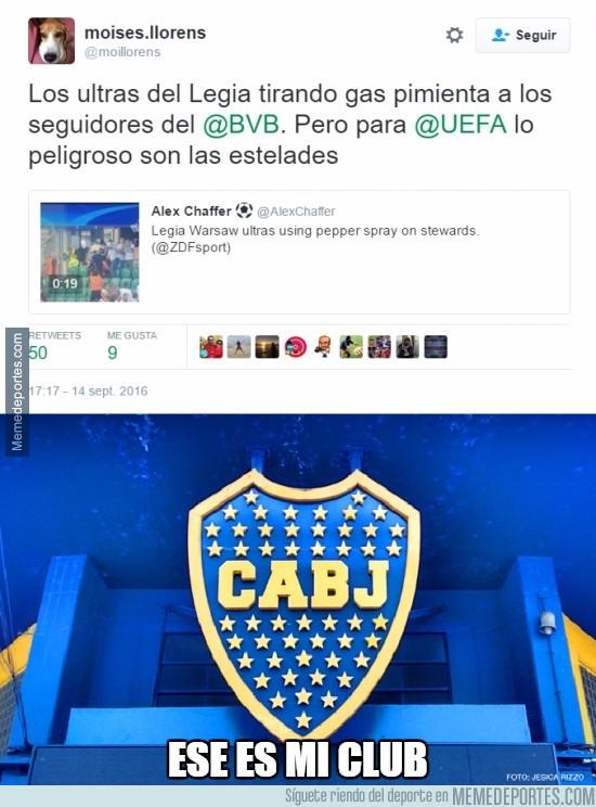 907673 - Los de Boca tienen nuevo club favorito