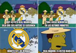 Enlace a Real Madrid, es usted diabólico