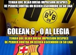 Enlace a El Borussia y el Barça tienen cosas en común