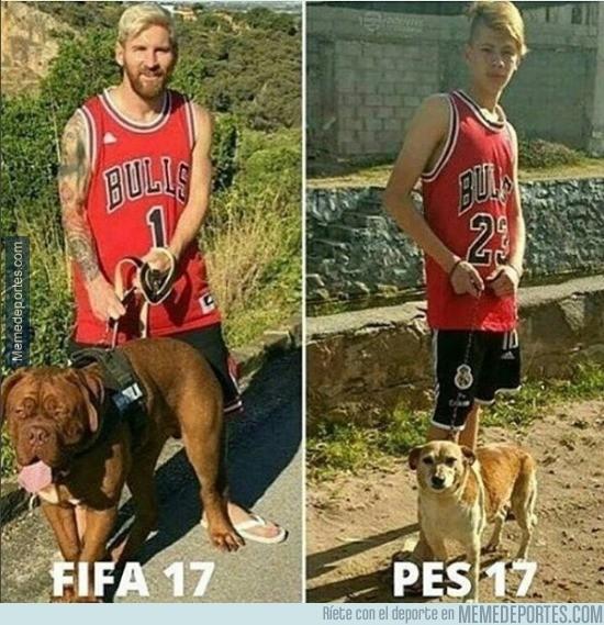 908011 - Diferencias en los gráficos de FIFA y PES