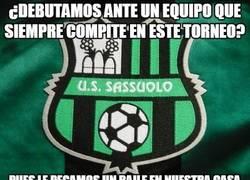 Enlace a Sorpresón en Europa League con el Sassuolo