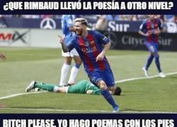 Enlace a Messi, el poeta de la zurda