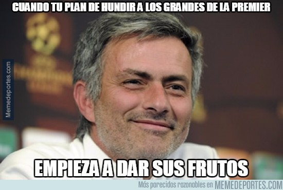 908890 - Genial Mourinho