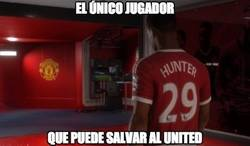 Enlace a Hunter es lo único que le queda al United