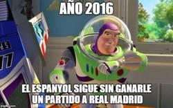 Enlace a Desde 20-10-07 el Espanyol no le puede ganar al Real Madrid