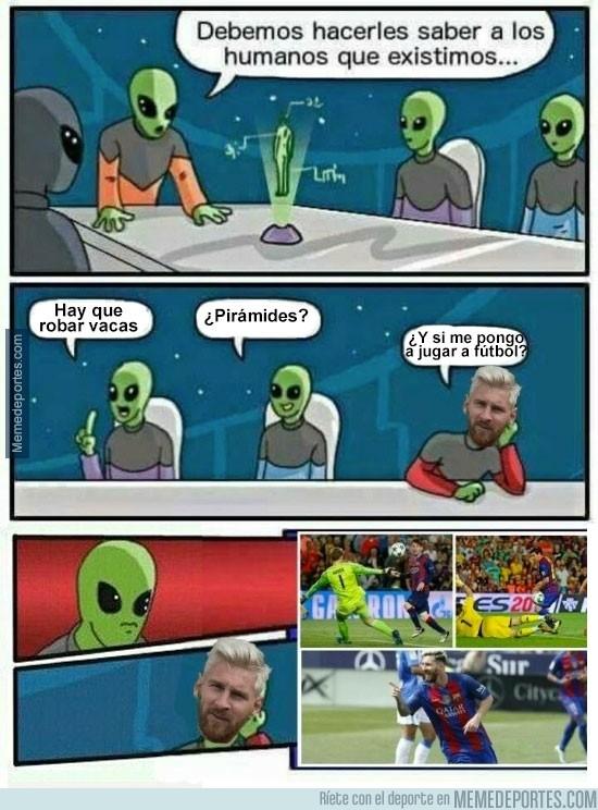 909318 - ¿Cómo lo hacen los aliens para darnos a conocer su existencia?