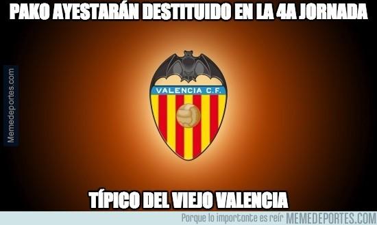 909607 - El Valencia se carga a Pako Ayestarán