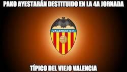Enlace a El Valencia se carga a Pako Ayestarán