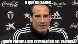 Enlace a Quinta vez que entrena al Valencia