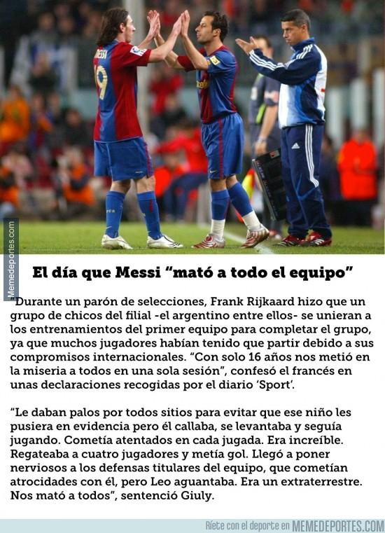 909701 - Impresionante anécdota de cuando Messi aún era del filial