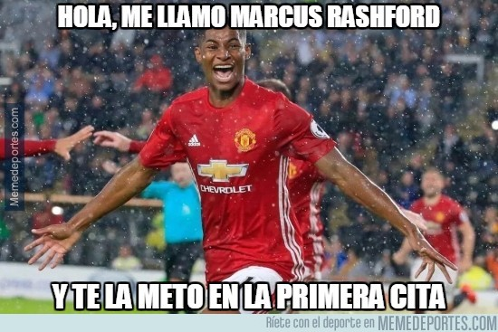 910110 - Marcus Rashford nunca falla en su debut, esta vez en Capital One Cup