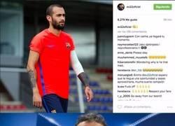 Enlace a Aleix Vidal explota contra Luis Enrique en Instagram aunque después se arrepiente y lo borra