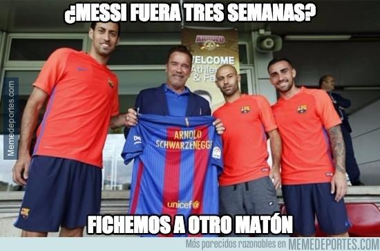 910599 - El Barça ficha a Schwarzenegger