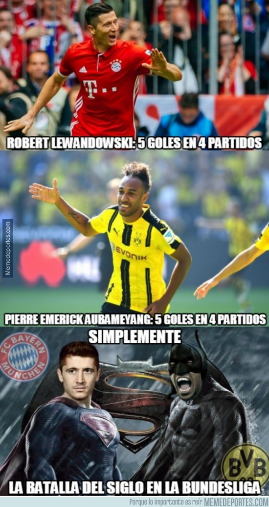 910633 - Batman vs Superman versión Bundesliga