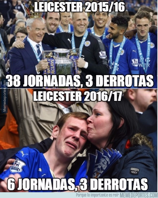 910722 - Gran diferencias entre los dos Leicester